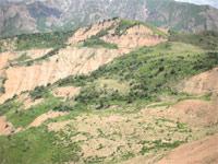 горы Чимган в Узбекистане